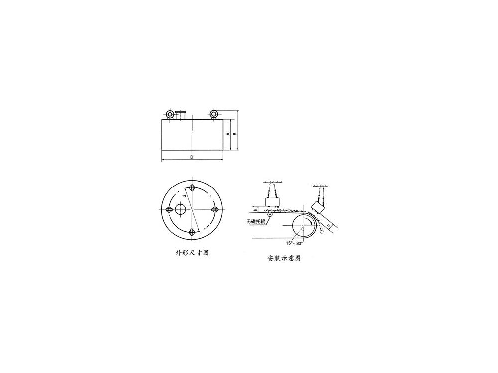 RCDB电磁除铁器
